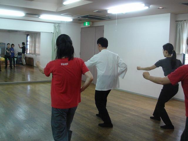 太極拳白楽教室 練習風景