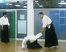 大東流合気柔術 練習風景